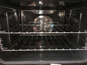 oven cleaning after