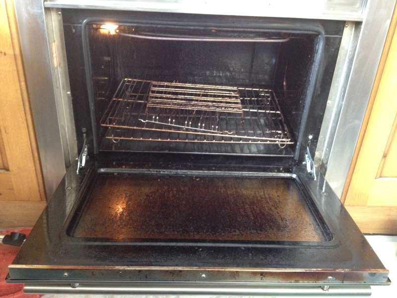 oven cleaning company before