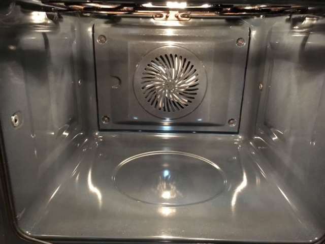 oven cleaning service after
