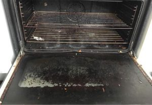 Oven Cleaning Service - Before